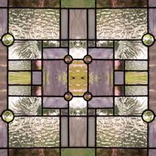prairie stained glass background