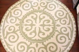 captivating round rug 6 ft in brilliant circular large size of white