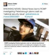 Image result for pics of canadian who stole and crashed plane