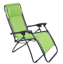 image of folding chaise lounge chair patio outdoor pool beach lawn recliner zero gravity