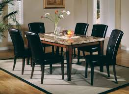 marble top dining room table. Dining Room Awesome Marble Top Table Set Likeable New 2 F