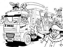Zwarte Piet Kleurplaat Sinterklaas Kleurplaat Animaatjesnl