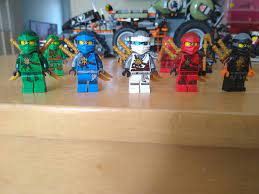 These are my two favorite ninja suits. What's your guys favorites? : Ninjago