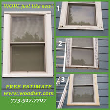 find rotten the window frame you do not need to do this we can come and fix all rotten wood in your window save your money with us free estimate