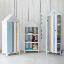 Armadio a forma di cabina da spiaggia per bambini ocÉan home