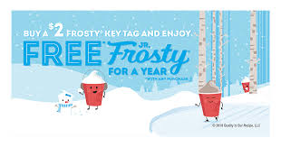 Wendy's Frosty Key Tag 101 — The Square Deal™ Wendy's Blog