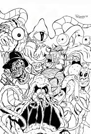 Small Picture Gremlins Coloring Pages Coloring Home
