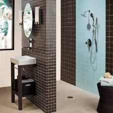 Bathroom tile black Bathroom tile ideas 2013
