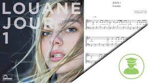 Piano Sheet Music: Jour 1 - Louane - PianoLab