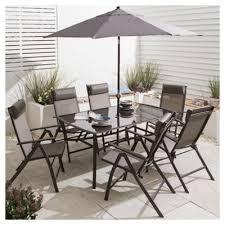 garden set. Roma Metal Garden Furniture Set, 8 Piece Set