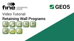 Small Picture GEO5 Tutorials Introduction to Retaining Wall Design Programs