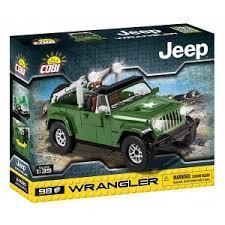 "Пластиковый <b>конструктор COBI</b> ""Джип <b>Jeep</b> Wrangler Military ..."