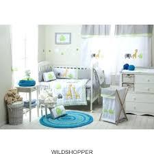 jungle bedding set jungle crib bedding set baby boy girl grey safari 4 crib bedding sets