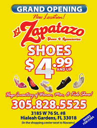 el zapatazo shoes accessories accessories 3185 w 76th st hialeah fl yelp