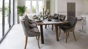 dining room chair set black velvet accent white