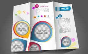 Booklet Template Free Download Interesting 48 Template Desain Brosur Free Download Format Photoshop