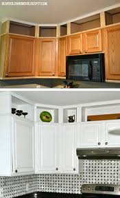 Above Kitchen Cabinets Ideas Custom Decorating Ideas