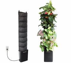 indoor herb garden kit. Florafelt Living Wall Kit - 8 Pockets Indoor Herb Garden