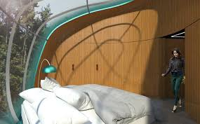 Pod Home The Nest Pod Is Futuristic Prefab Home That Can Pop Up Anywhere In