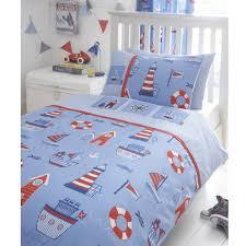 children 039 s nautical boatyard theme duvet cover