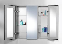 Bathroom Cabinets Medicine Cabinet Recessed Mirrored Bathroom And