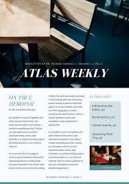 Customize 85 Classroom Newsletter Templates Online Canva