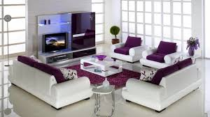 Purple And Green Living Room Decor Purple Living Room Decor Home Design Ideas