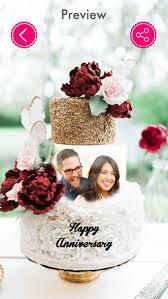 Anniversary Cake Photo Frame Photo Name On Cake By Mitesh Varu