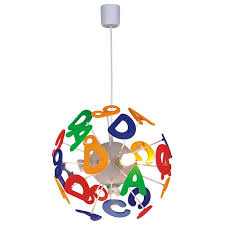 kids lighting ceiling. Alphabet Kids Ceiling Light For Lighting Ideas: Full Size