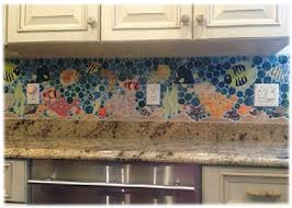 Nice Another Lovely Tropical / Coral Reef Ceramic Tile Kitchen Backsplash / Back  Splash Design Idea Is Shown Below. Itu0027s Very Similar To The Above Design,  ... Awesome Design