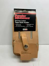 popular mechanics leather tape measure holder pouch 34571