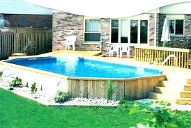 above ground pools and deck backyard pool ideas swimming plans pool deck designs swimming decks above ground
