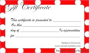 Custom Gift Certificate Templates Free Personal Gift Certificate Creative Advice Training Template