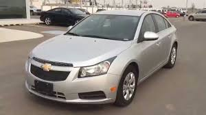 Grey 2014 Chevrolet CRUZE LT Compact Sedan with only 14,892 kms ...