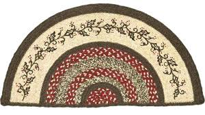 half moon rugs rug holly berry jute half moon by s nook the weed patch brilliant
