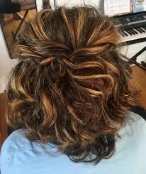 Fashion Half Up Half Down Hairstyles Medium Length Latest Prom