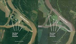 Army Corps Of Engineers Lower Mississippi River Navigation Charts Escalating Floods Putting Mississippi Rivers Old River