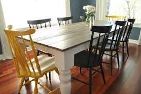 rustic dining table diy. Diy Rustic Dining Room Table Plans Farmhouse Ideas For Your Dini On Furniture T