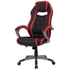 office bucket chair. Goplus Racing Car Style High Back Office Chair Bucket Seat Desk Gaming Black\u0026Red