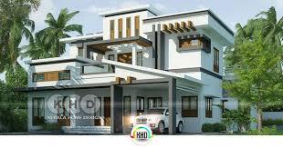 4 Bedroom Box Model Contemporary House Design