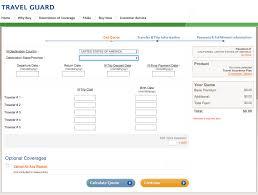costco travel insurance quote screen aardvarkcompare com
