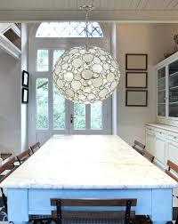 lotus flower chandelier modern decorative shell capiz