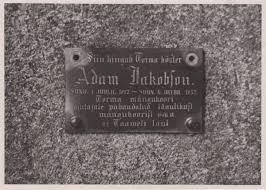 Adam Johann Jakobson (1817 - 1857) - Genealogy