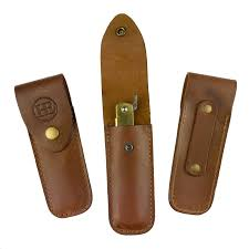 henry eckert leather knife pouch