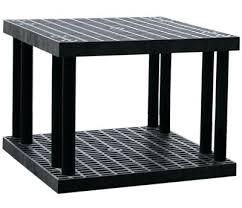 plano 4 shelf storage unit best storage shelves luxury two shelf grid top plastic shelving x