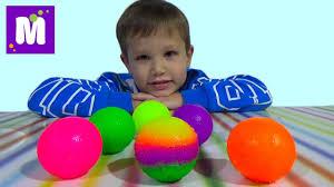 Распаковка набора делать <b>мячики</b> - YouTube