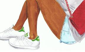 adidas shoes drawing. not just a fashion girl thing: stan smith adidas, illustrated adidas shoes drawing