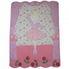 Quilts and Bedspreads for Childrens Beds From Little Lucy Willow UK & Ballerina Quilted Bedspread Adamdwight.com