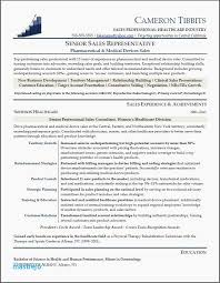 Medical Device Sales Resume Examples Sales Resume Summary Examples