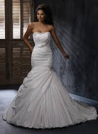 fit and flare wedding dress dressed up girl